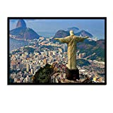 WGEYI Rio De Janeiro Cristo Redentor Jesus Status