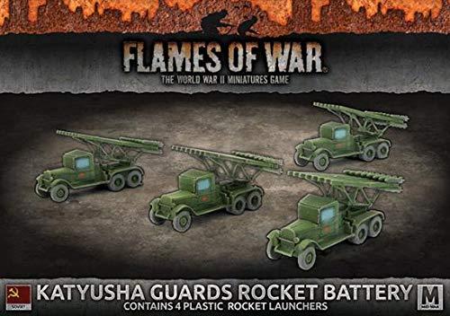 Flames of War: Mid War: Soviet: Katyusha Guards Rocket Battery (SBX44)