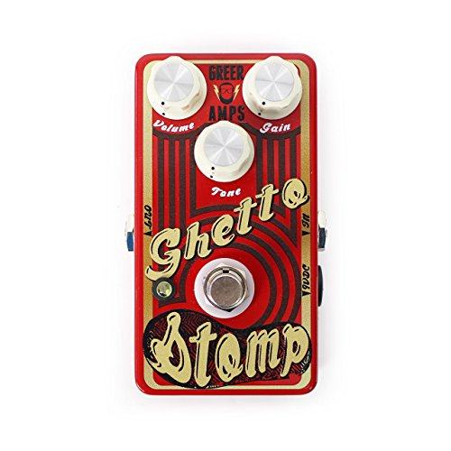 Greer Amplification Ghetto Stomp Overdrive Guitar Pedal