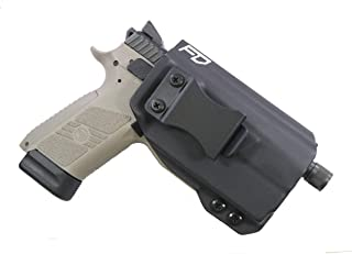 FDO Industries -Formerly Fierce Defender- IWB Kydex Holster CZ P-07 w/Olight PL-Mini Valkyrie -Winter Warrior Series -Made in USA-