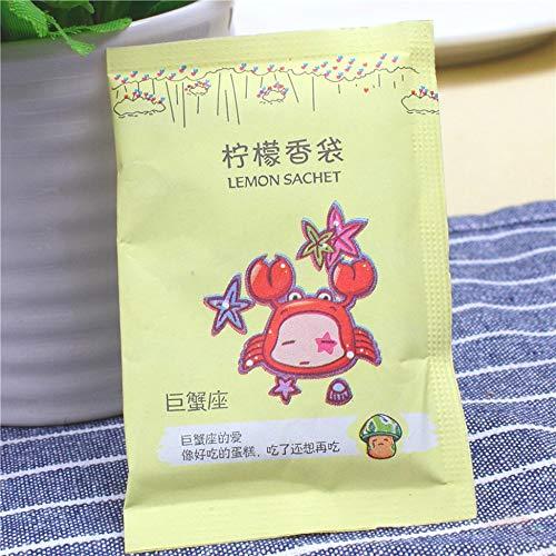 Triamisu Nature Flower Fresh Air Plant Duft, für Kleiderschrank, Schublade, Auto, Parfüm, Beutel – Gelb