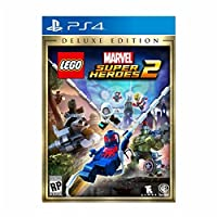 LEGO Marvel Super Heroes 2 Deluxe Edition PlayStation 4 レゴマーベルスーパーヒーローズ2デラックスエディションプレイステーション4北米英語版 [並行輸入品]