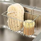 Kitchen Sponge Holder, Sink Basket Sink Caddy Brush Dishwashing...