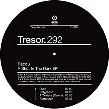 A Shot in the Dark - EP