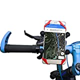 UP UPKJ Universal Premium Bicycle and Motorcycle Mount Phone Holder 360° Rotatable for iPhone 8/7/7+ 6 6+/6S/6S+/5S/5C, Samsung Galaxy S3 S4 S5 S6 S7 S8 Note 3/4/5,Nexus,HTC,LG & GPS Devices