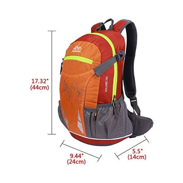 51cK0iL4HKL. SS600  - EGOGO 20L impermeable Mochila de Senderismo/ Morral que acampa /Mochila viaje/Mochila Bicicleta / Mochila con la…