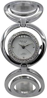 اوماكس ساعة رسمية نساء انالوج بعقارب ستانلس ستيل - 00AB01P36I