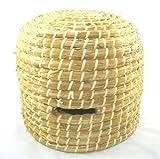Imker Großer Handgemachter Stroh Bienestock Bienenkorb