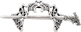 Lurrose 2pcs Vintage Creative Hair Clips Celtic Hair Stick Metal Hairpin Hair Accessories for Women Girls