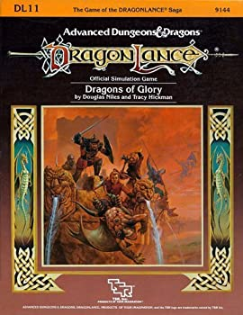 DL11 Dragons of Glory - Book  of the Advanced Dungeons and Dragons Module #C4