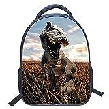 ele ELEOPTION Mochila de guardería, impermeable, mochila 3D, diseño de dinosaurios