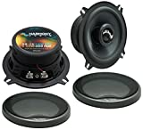 Harmony Audio HA-C5 Car Stereo Carbon 5.25' Replacement 250W Speakers & Grills