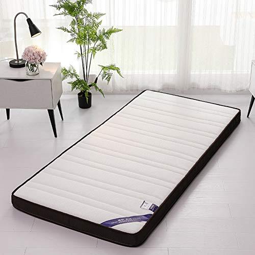 ZAIPP Comfort Support Bed Matras, Multi Purpose Ademende Gewatteerde Gastenbed Vervangende Pad Kids Vloer Game Mat Dikke 6 cm