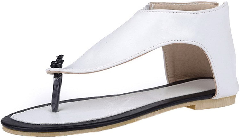 Weipoot kvinna pu pu pu Low talon and Low - Finger zipper sandales, eghlg005548  mer rabatt
