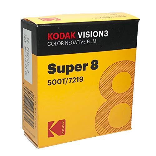 Negativos en color de 8mm de Kodak Vision3, modelo 500T 7219