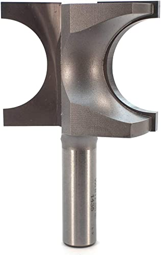 discount Whiteside Router Bits 1435 Half Round outlet online sale Bit with high quality 5/8-Inch Radius and 1-3/4-Inch Cutting Length online
