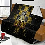 Appalachian State Mountaineers University Oversized Lamb Wool Throw Blanket for Couch Or Bed Sofa Blankets 80'X60'