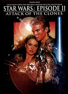 Star Wars Episode II Attack of the Clones: Piano Solos, Book & Poster