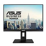 ASUS BE24WQLB - Ecran PC 24,1'' WUXGA - Dalle IPS - 16:10 - 1920x1200 - DP, HDMI, VGA et 4x USB 3.0 - Kit mini PC inclus - Filtres de lumière bleue - Haut-parleurs - Ajustement hauteur et pivot