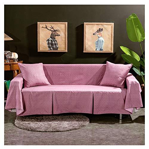 GELing Elástico 3 Cojín Sofá Cover Lavable Antideslizante Slipcovers para sillas y Sofás 1 Pieza,4,Tres Plazas