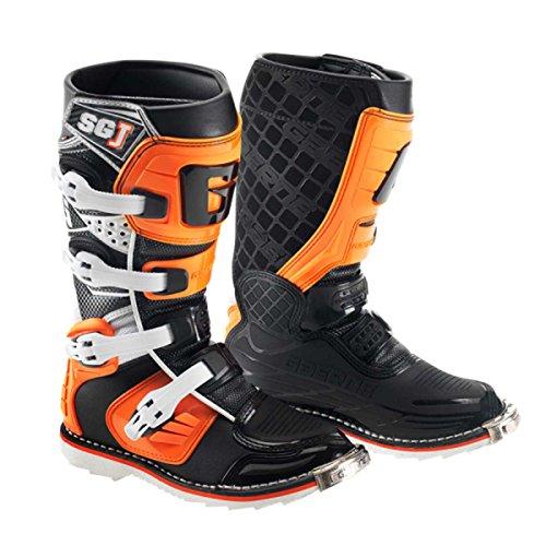 Gaerne SG-Junior Kinder MX-Stiefel, Farbe orange-schwarz, Größe 37