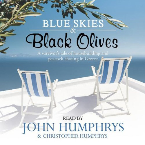 Blue Skies & Black Olives audiobook cover art