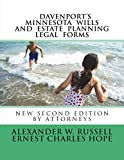 Davenport's Minnesota Wills And Estate Planning Legal Forms: Second Edition