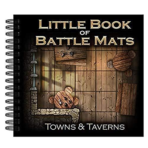 Loke The Little Book of Battle Mats - Towns & Taverns Edition (017LBM)