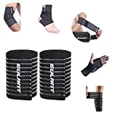 ONTYZZ Support Bandage Coude 1 Paire Élastique élevé Bandage au Poignet Support de...