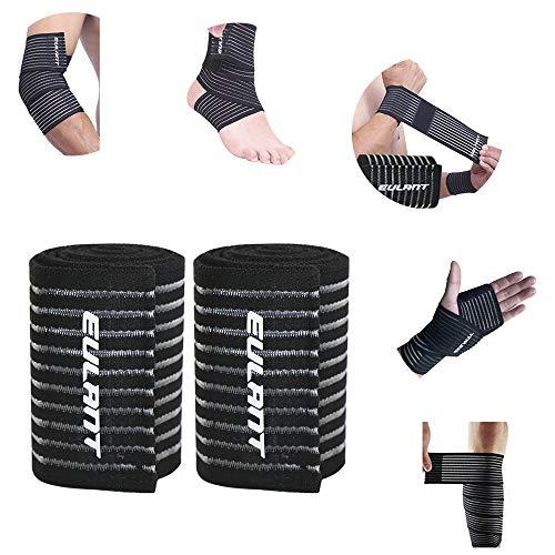 ONTYZZ Support Bandage Coude 1 Paire Élastique élevé...