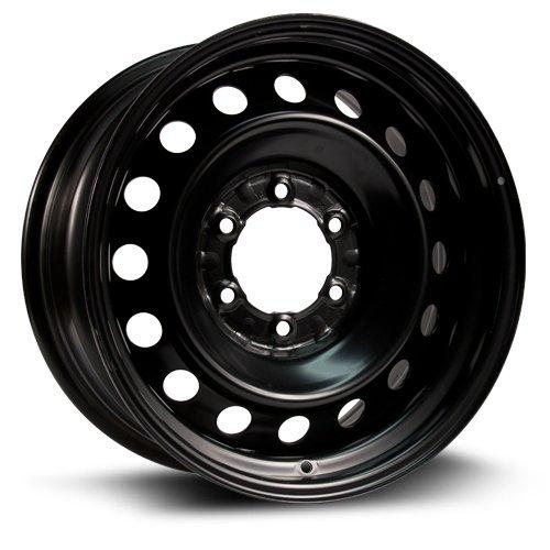 RTX, Steel Rim, New Aftermarket Wheel, 16X7, 6X139.7, 106, 30, black finish X45483