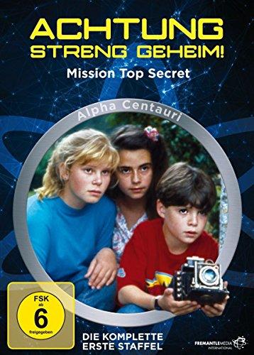 Achtung - Streng geheim! Die komplette erste Staffel (Alpha Centauri - Mission Top Secret) [3 DVDs]