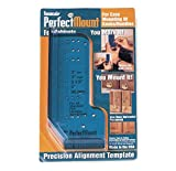 Laurey 98201 Perfect Mount Precision Allignment Template for Cabinet Hardware, Pack of 1, Drawer Slides