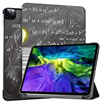 """MAITTAO Smart Cover for iPad Pro 11-inch Case 2020 2nd Gen, Leather Folio Stand Protective Shell with Auto Sleep/Wake Compatible with Apple iPad 11"""" 2020 A2228 / A2231,Creative Bulb 19"""