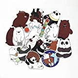 42 Pcs/Lot American Anime We Bare Bears Sticker Decal for Children Backpack Notebook Waterproof Stickers
