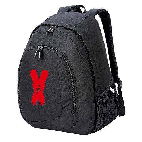 RUCKSACK backpack bag JP x jake paul logan logang maverick team 10 paulers (BLACK)