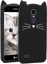 BEFOSSON Cute 3D Cartoon Cat Phone Case for LG Aristo 2 / Aristo 3 / Aristo 2 Plus/Fortune 2 / Phoenix 4 / Tribute Dynasty/Tribute Empire/Rebel 4 LTE/LG K8 2017/ K4 2017 / K8+ / K8 2018 / K8S