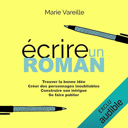 Écrire un roman audiobook cover art