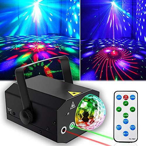 Party Lights + Disco Ball GOOLIGHT Dj Disco...