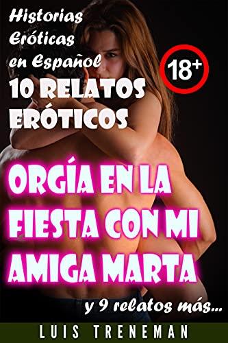 Orgía en la fiesta con mi amiga Marta de Luis Treneman