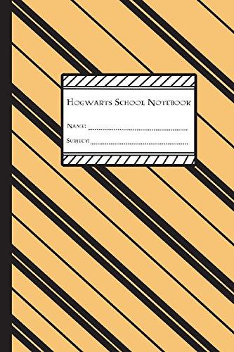 Hogwarts School Notebook: Hufflepuff Edition