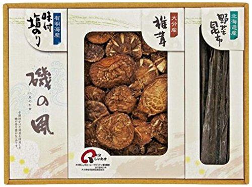 松岡椎茸生産販売 日本の美味詰合せ 15-7665-039 [1678]