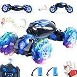 【No Way To Stop Me】: This twisted remote control car for boys 8-12 can be used on all terrains as it has off-road and on-road modes. When rc crawler runs on the Mud, rc cars for kids will run with its on-road mode, once it climbed on the mountain,jus...