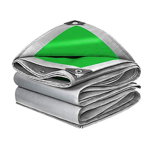 GHHZZQ 0,32 mm Espesor Lona de PE Ligera Cubierta Protectora Impermeable for Vehículos Al Aire Libre Toldo de Tela Impermeable Toldo for Camión, Personalizable (Color : A, Size : 6x12m)