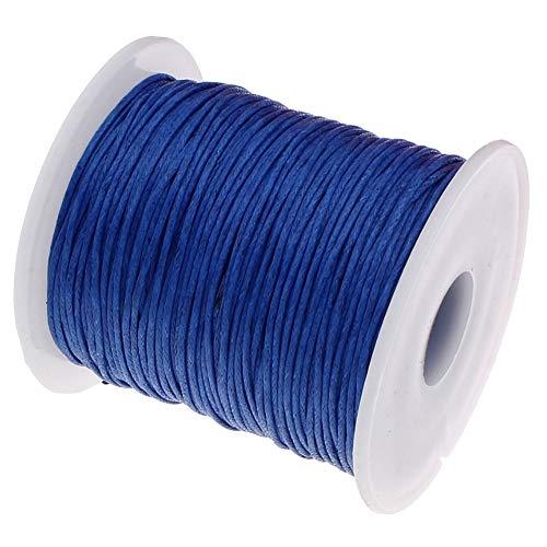 My-Bead 90m Nylonband Kordel 1mm blau Pflaume wasserfest Nylonschnur Top Qualität Schmuckherstellung basteln DIY