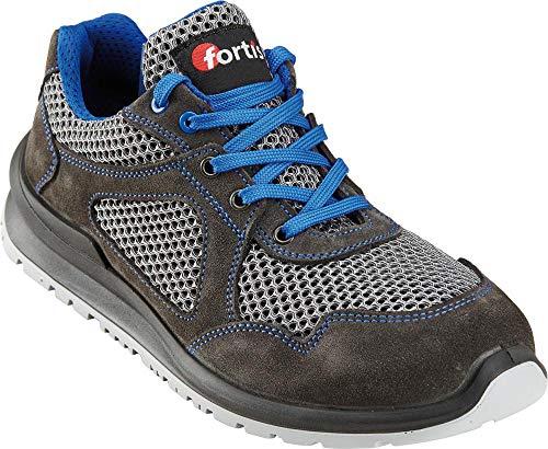 Fortis Dain S1P lage schoen/werkschoen, maat 48 turquoise