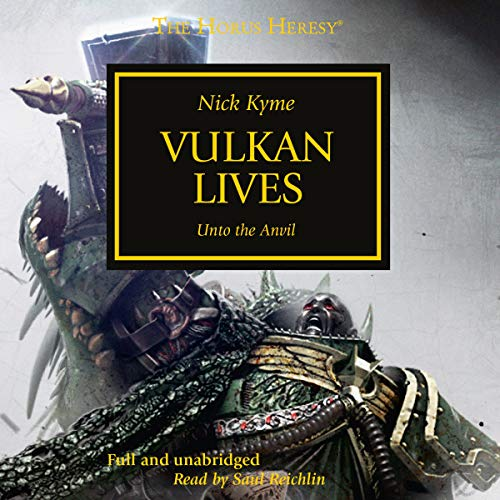 Couverture de Vulkan Lives