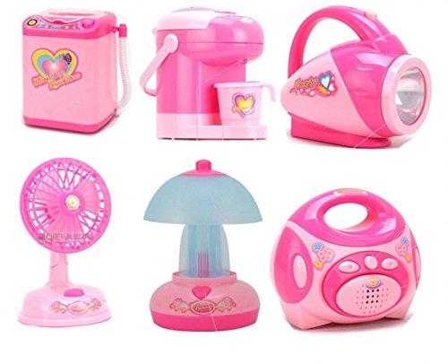 CHENGYIDA Mini Eléctrico Varios Pretenden Juego Juguetes Simulación Cocina Electrodomésticos Juguete Niños Niños Regalos de Cumpleaños