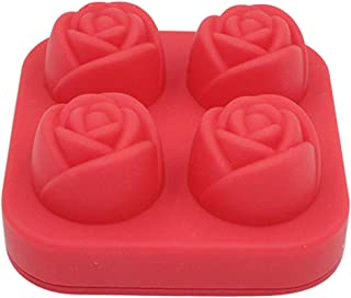 Fasclot Freeze Mold- Uarter 4 Grids Rose Shaped Creative Tray Eco-Friendly Ice Maker Home & Garden Kitchen,Dining & Bar for Fourth of July