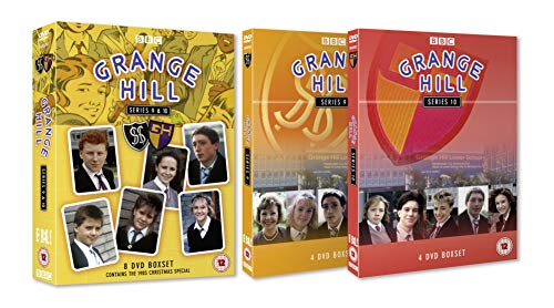 Grange Hill BBC TV Series 9 & 10 Boxed Set (8-Discs) (DVD)